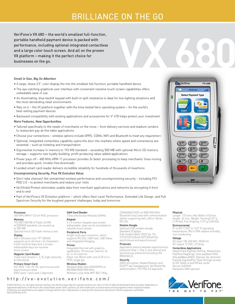 verifone credit card machine manual